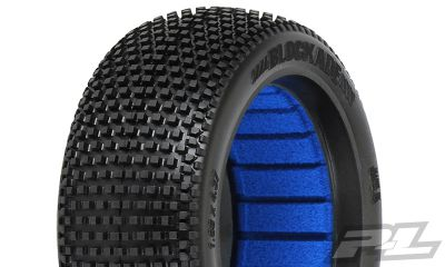 PROLINE \'BLOCKADE\' M4 1/8 BUGGY TYRES W/CLOSED CELL