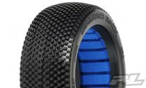 PROLINE DIAMOND BACK X2 MEDIUM 1/8 BUGGY TYRES W/CLOSED CEL