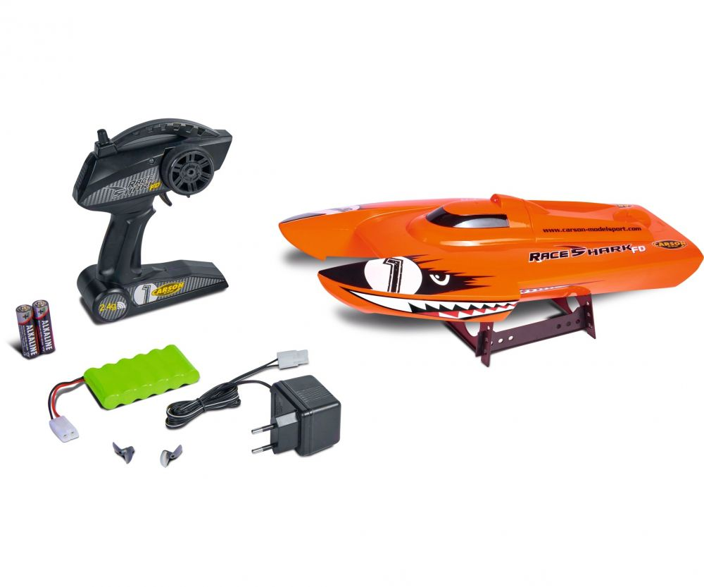 Race Shark FD 2.4G 100% RTR orange - 500108034