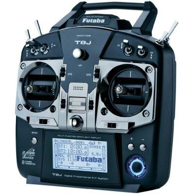 RADIO FUTABA 8J R2008SB ACCU TX MODE 2