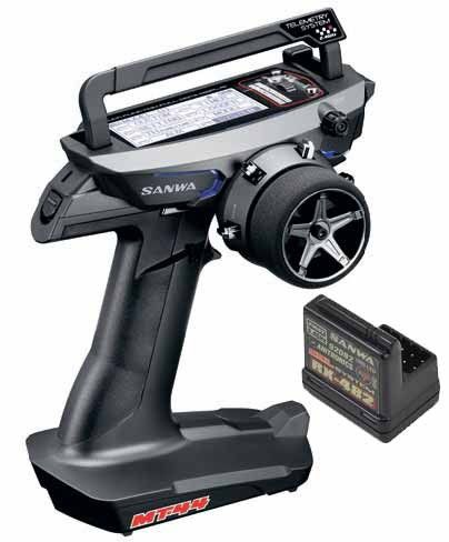 RADIO SANWA MT-44 PC + RECEPTEUR RX482 101A32171A