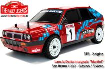 RALEZRL089 DISC. LANCIA DELTA INTEGRALE Martini San Remo 1989 1/10 RC car RTR K