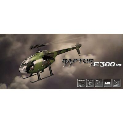 RAPTOR E300 MD Flybarless ARTF Thunder Tiger T4725-A13