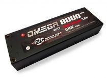 Rc Concept Batterie Lipo 2S Accu 8000 120C 7.6V 2S1P Stick (PK 4mm)  - 50C518000000