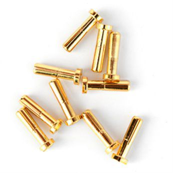 Rc Concept Prise PK 4 mm or male plate (10) - 2220040A