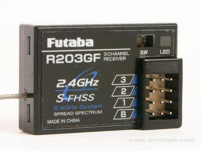 Recepteur R203GF S-FHSS 2.4GHZ Futaba - 01000500