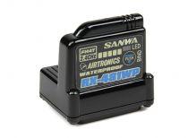 Récepteur SANWA RX-481 4 voies 2,4GHZ FH3/FH4 WaterProof Antenne Intégrée - 107A41257A