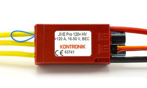 Régulateur KONTRONIK JIVE Pro 120+ HV - 4635