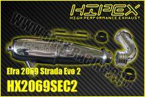 Résonateur HIPEX EFRA 2069 STRADA EVO 2 special Piste avec Coude