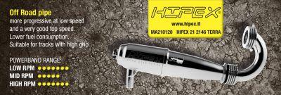Résonateur HIPEX EFRA 2146 TERRA special CRF / ORION avec Coude