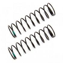 Ressorts d\'amortisseurs arrières verts 1.80 lb/in (61mm) - AS91837 - Pièce détachée Team Associated - 91837