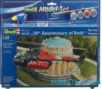 """revell 04906 1:72 scale Model Set. BO 105 \""""35th Anniversary of Roth\"""""""