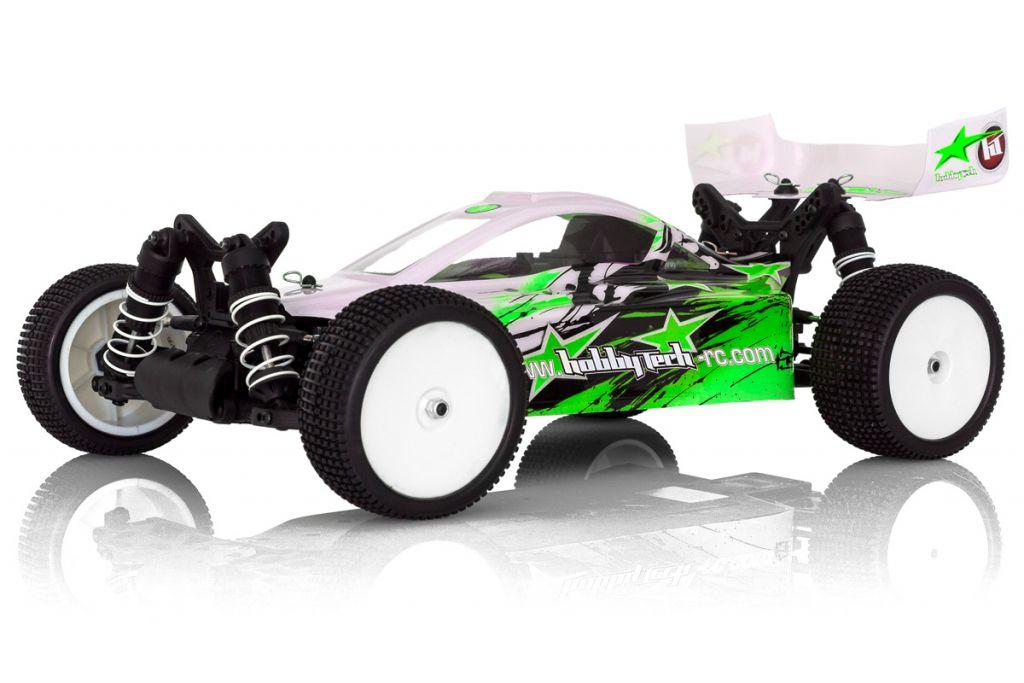 REVOLT 4.0 electrique 1 / 10RTR carro. VERTE + accus + chargeur