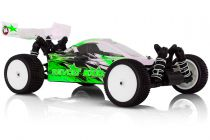 REVOLT BX10 V4.0 electrique 1 / 10RTR carro. VERTE + accus + chargeur