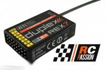 REX 7 Duplex EX 2.4Ghz Jeti 7 Voies -Récepteur