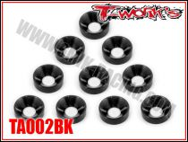 Rondelles cuvettes M4 noires T-Work\'s (10)