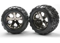 ROUES ARRIERE MONTEES COLLEES TALON 2.8 (2) - TRX3668A - TRAXXAS