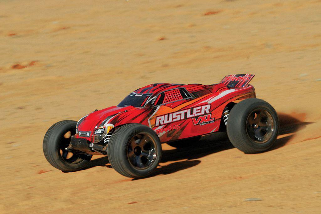 RUSTLER - 4x2 - 1/10 VXL BRUSHLESS -  iD - TSM