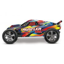 RUSTLER Rock n\'Roll - 4x2 - 1/10 VXL BRUSHLESS - TSM - SANS AQ/CH - TRX37076-4 - TRAXXAS 37076-4