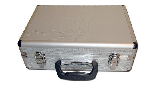 S0448511 - Mallette aluminium pour émetteur/radio - mousses amovibles