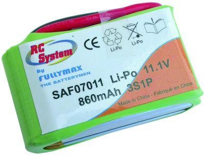 SAF07011 - LIPO 11,1V 860MAH HP 20C