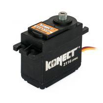 Servo 21kg 0.16s Digital pignons métal - KONECT - KN-2116LVMG