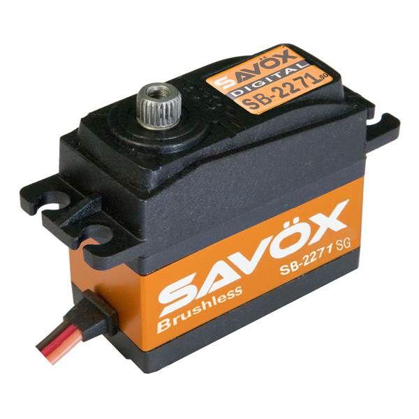 Servo Brushless SAVOX  DIGITAL  20kg / 0,06sec. 7.4V