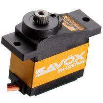 Servo SAVOX MICRO DIGITAL 2.2kg-0.09s pignons metal - SH-0257MG