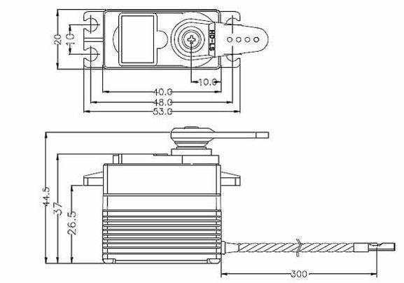 Servo standard Hitec HS-7954SH 114954