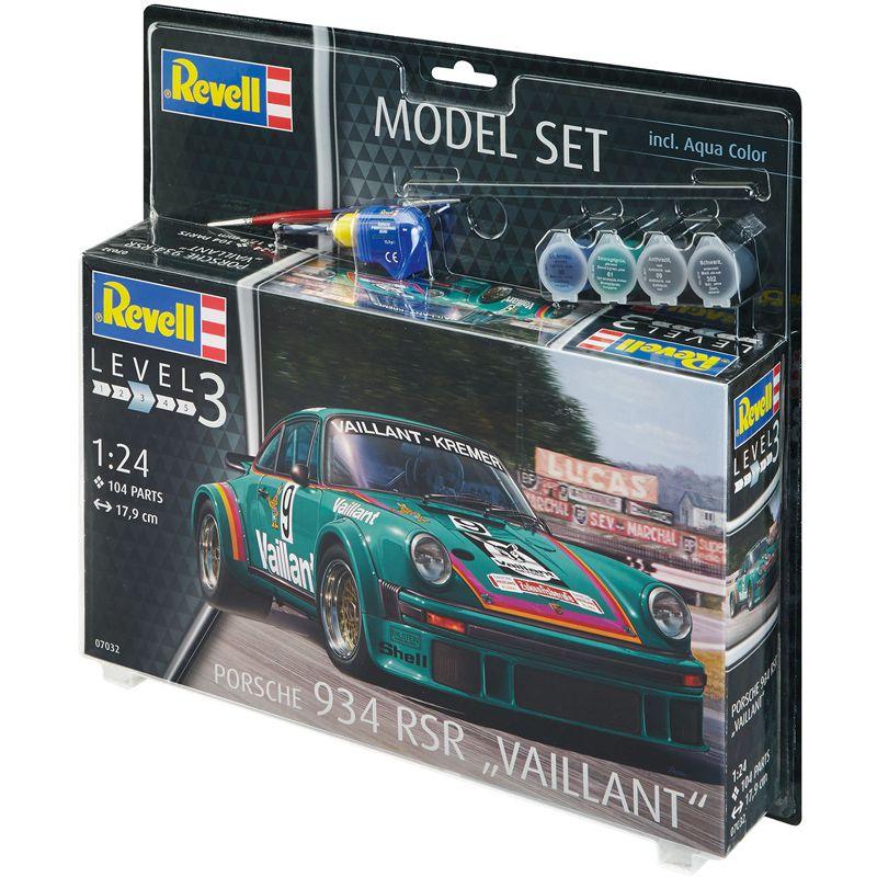 "Set Porsche 934 RSR \""Vaillant\"" - 1/24 67032"