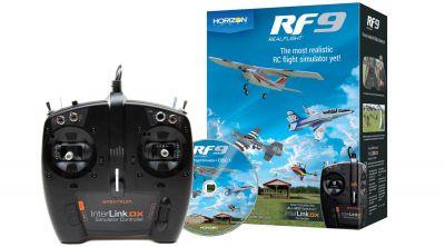 Simulateur de vol Real Flight - RF-9 Horizon Hobby - Interlink-DX Mode 1,2,3,4 - RFL1100