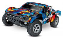 SLASH - 4x2 - ROCK N\'ROLL - 1/10 BRUSHED TQ 2.4GHZ - SANS AQ/CHG - TRAXXAS - TRX58024-RNR