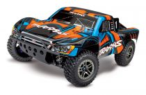 SLASH - 4x4 ULTIMATE ORANGE - 1/10 BRUSHLESS - iD - TSM - SANS AQ/CHG - TRX68077-4 - TRAXXAS