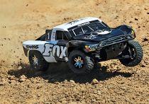SLASH 4x4 ULTIMATE FOX - 1/10 BRUSHLESS - iD TSM OBA - SANS AQ/CHG - TRX68077-24-FOX - TRAXXAS