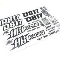 Stickers pour HB D817
