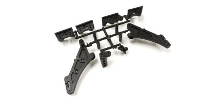 SUPPORT AILERON MP9 TKI4 - HIGH TRACTION - IFW460B - Pièce détachée KYOSHO