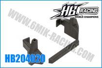 Support d\'accus (plastique) pour HB E817