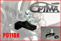Support de carrosserie arrère OPTIMA sur silent-bloc NOIR
