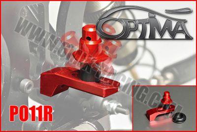 Support de carrosserie arrère OPTIMA sur silent-bloc ROUGE