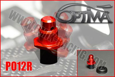 Support de carrosserie avant OPTIMA sur silent-bloc ROUGE