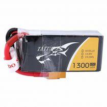 TA45C1300-4S1P - Batterie Lipo 4S 1300mAh 45C FPV xt60 - Tattu