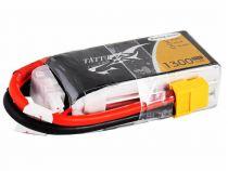 TA75C1300-3S1P - Batterie Lipo 3S 1300mAh 75C FPV xt60 - Tattu