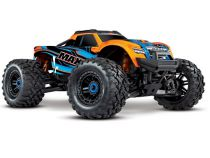 Traxxas Maxx 4S Brushless 4WD Orange AVEC LEDS TQi TSM RTR - 89076-4-fd