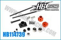 Tringlerie de frein HB D815 (kit)