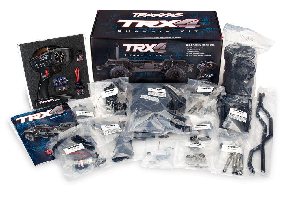 TRX-4 KIT A MONTER TRX82016-4 - TRAXXAS 82016-4