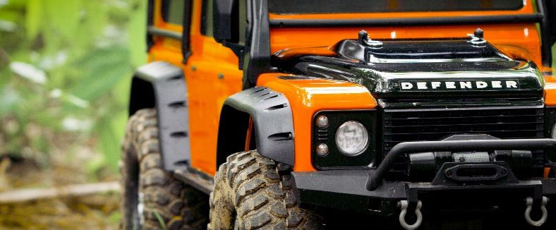 TRX-4 LAND ROVER DEFENDER ADVENTURE - TRAXXAS 82056-4-ORNG