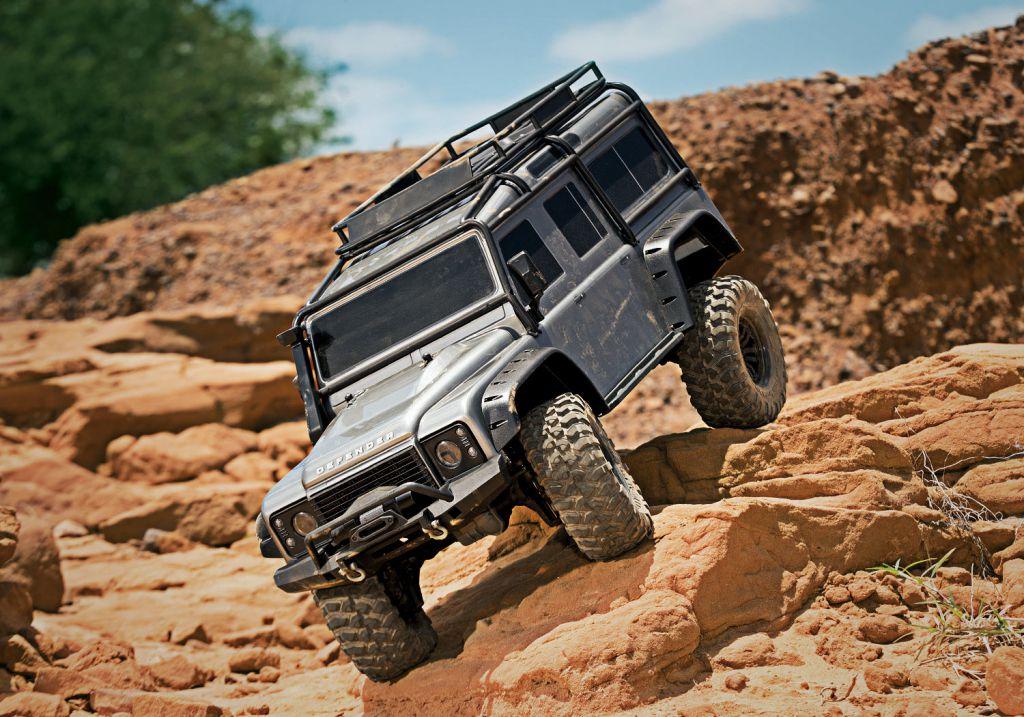 TRX-4 LAND ROVER DEFENDER GRIS