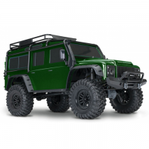 TRX-4 LAND ROVER DEFENDER LIMITED EDITION vert - TRX82056-4-GREEN - TRAXXAS