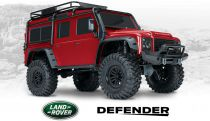 TRX-4 LAND ROVER DEFENDER ROUGE