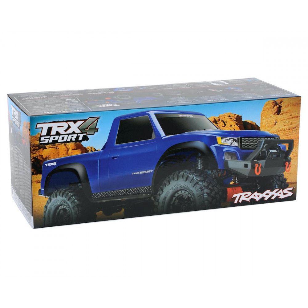 TRX-4 Sport | Pick Up Traxxas TQi RTR | 82024-4